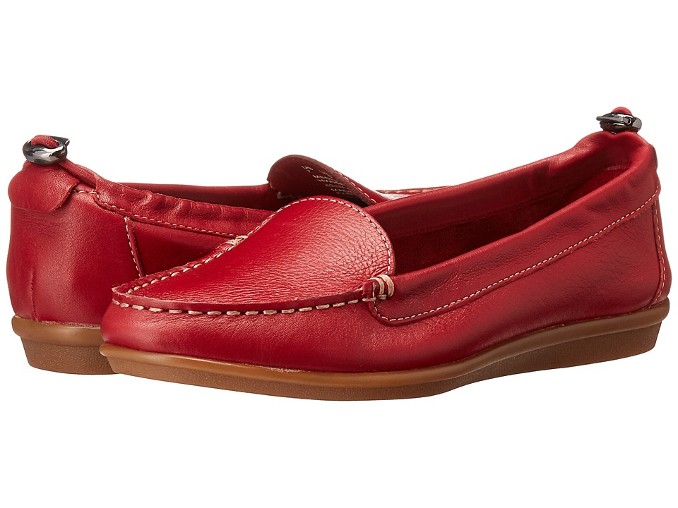 Hush Puppies - Endless Wink (Red Leather) Women