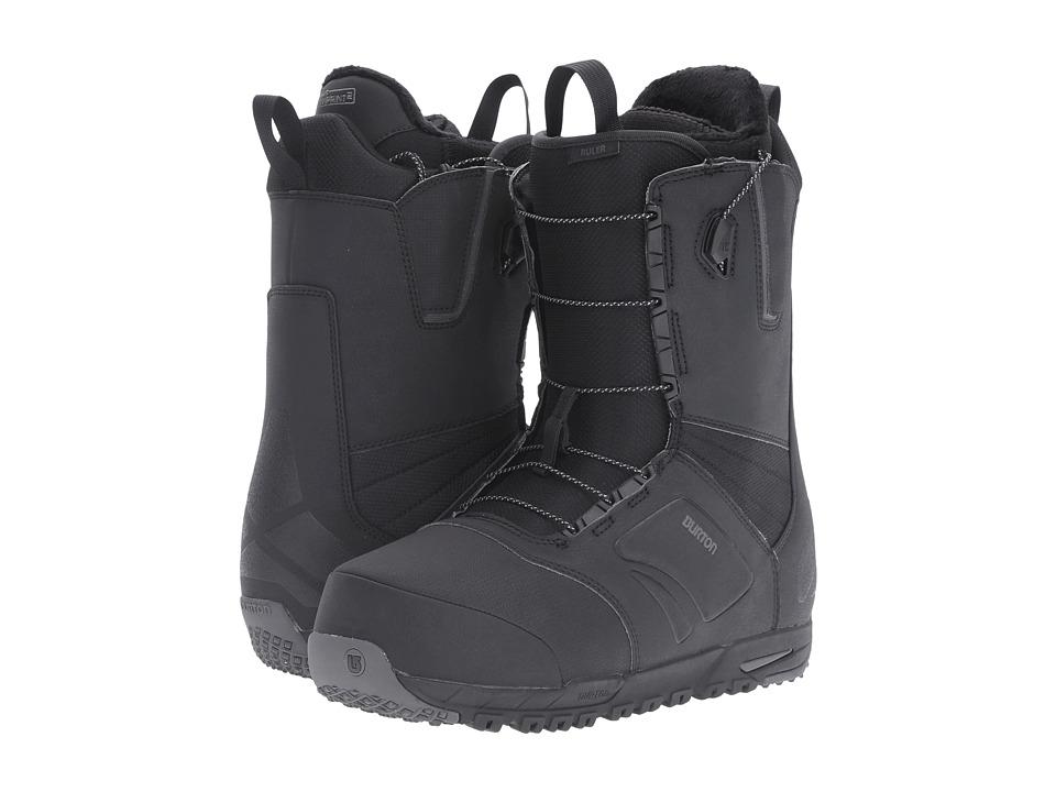 Burton - Ruler '17 Wide (Black) Men's Cold Weather Boots