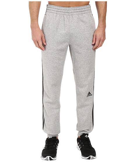 adidas Slim 3-Stripes Sweatpants - Medium Grey Heather/Black