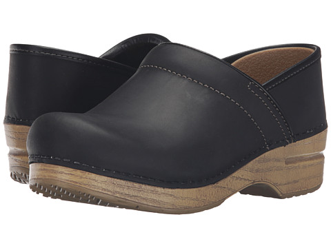 Dansko Professional - Black/Natural Oiled