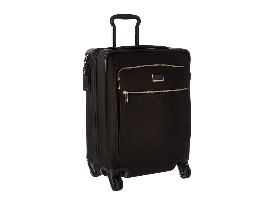 Tumi - Larkin Continental Expandable 4 Wheel Carry-On (Black) Carry on Luggage