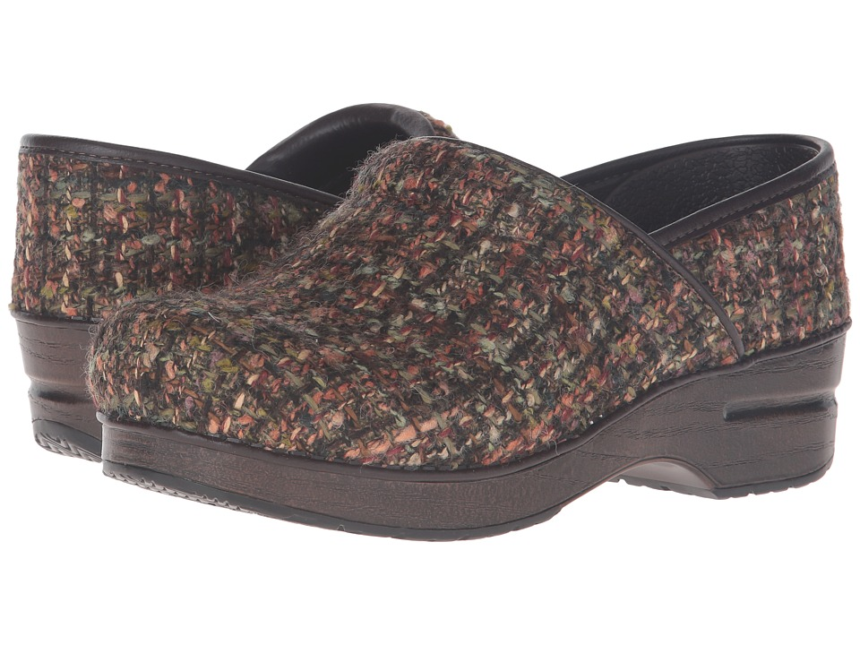 Dansko Fabric Pro (Brown Textured) Women