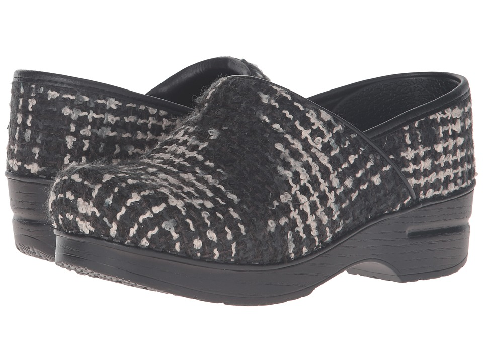 Dansko Fabric Pro (Black Textured) Women