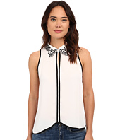 Brigitte Bailey - Kaela Floral Neck Top