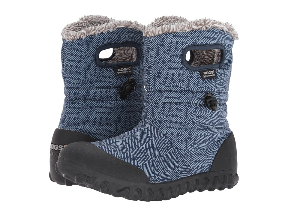 Bogs - B-Moc Dash Puff (Blue Multi) Women