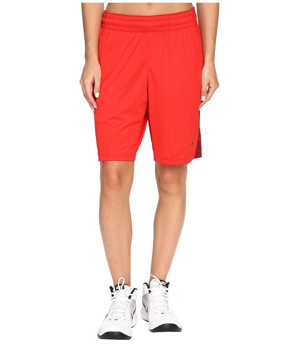 Nike 9 Basketball Short (University Red/Team Red/Team Red) Women