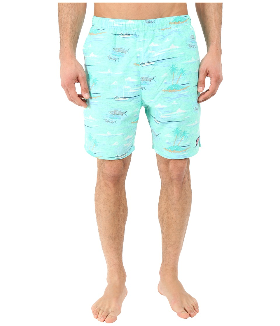 Vineyard Vines Anguilla Scene Chappy Marina Mens Swimwear