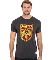 The Original Retro Brand - Heathered Black Short Sleeve Fiero Tee