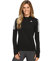 adidas - Response Long Sleeve 1/2 Zip Tee