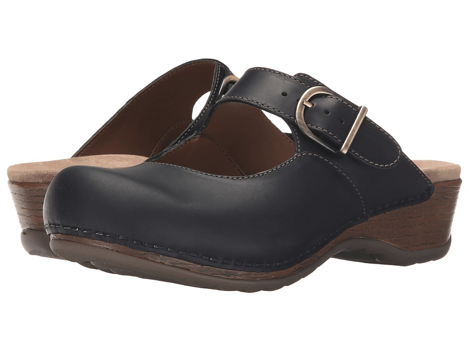 Dansko Martina (Black Oiled) Women