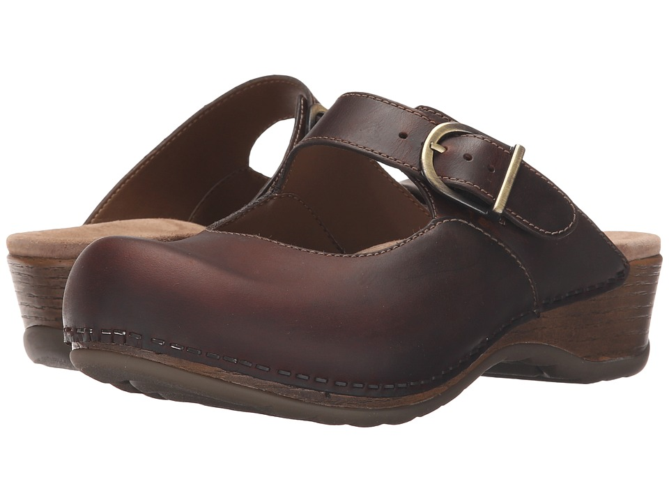 Dansko Martina (Antique Brown Oiled) Women