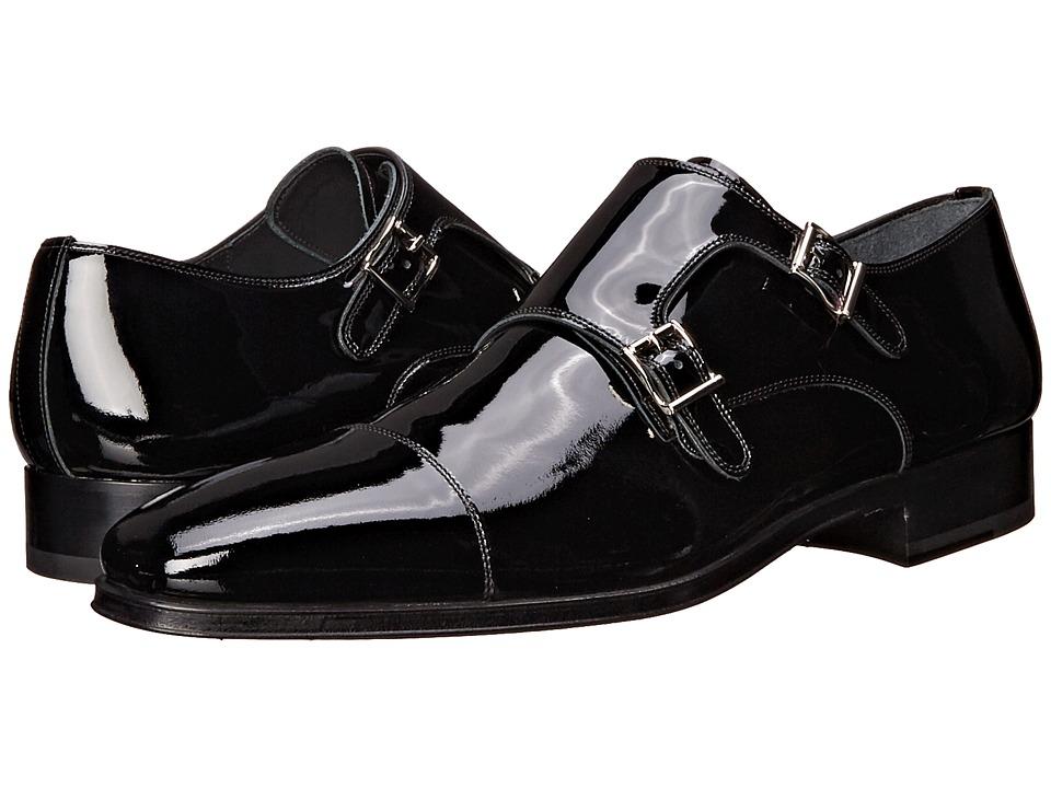 Magnanni - Drigo (Black Patent) Mens Monkstrap Shoes