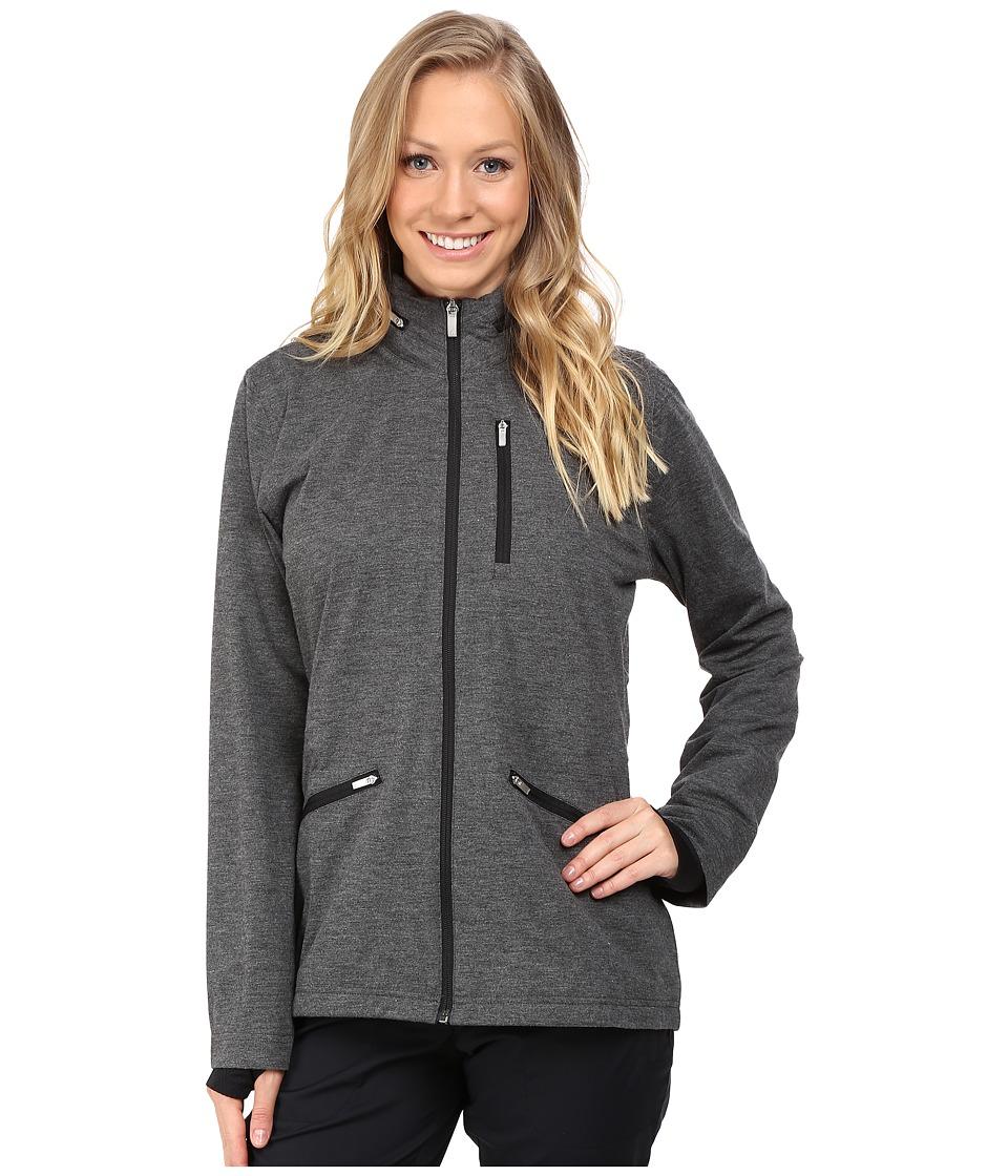 adidas Golf - CLIMAPROOF Softshell Jacket (Black Heather) Women