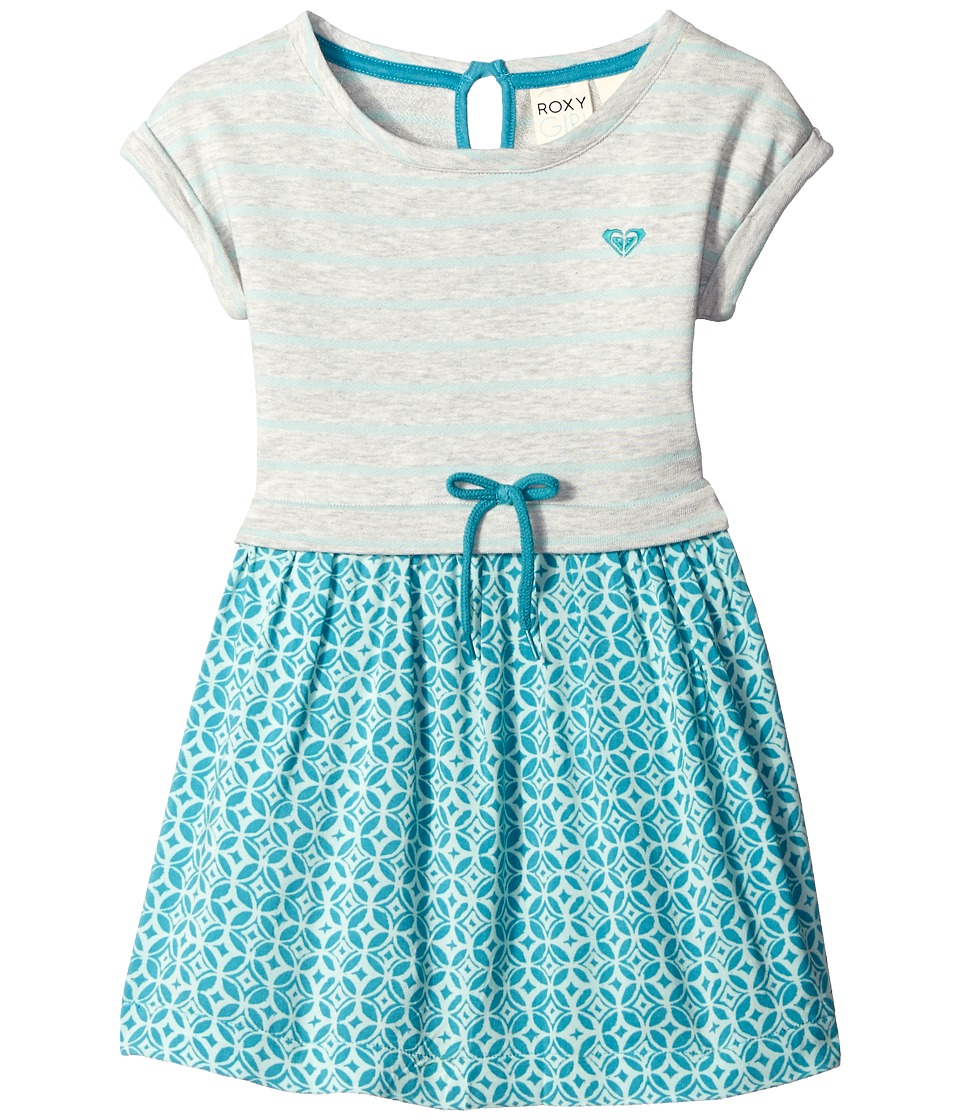 Roxy Kids Ocean Tide Dress Toddler/Little Kids Medium Heather Girls Dress