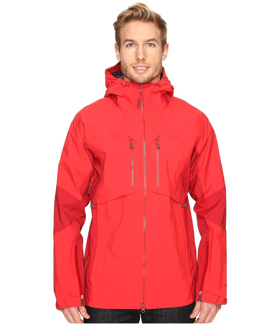 Outdoor Research Maximus Jacket (Hot Sauce/Agate) Men's C...