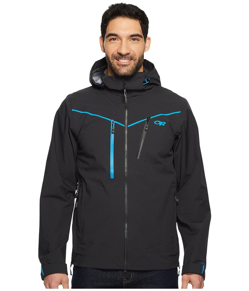 Outdoor Research Skyward Jacket (Black/Tahoe) Men's Coat