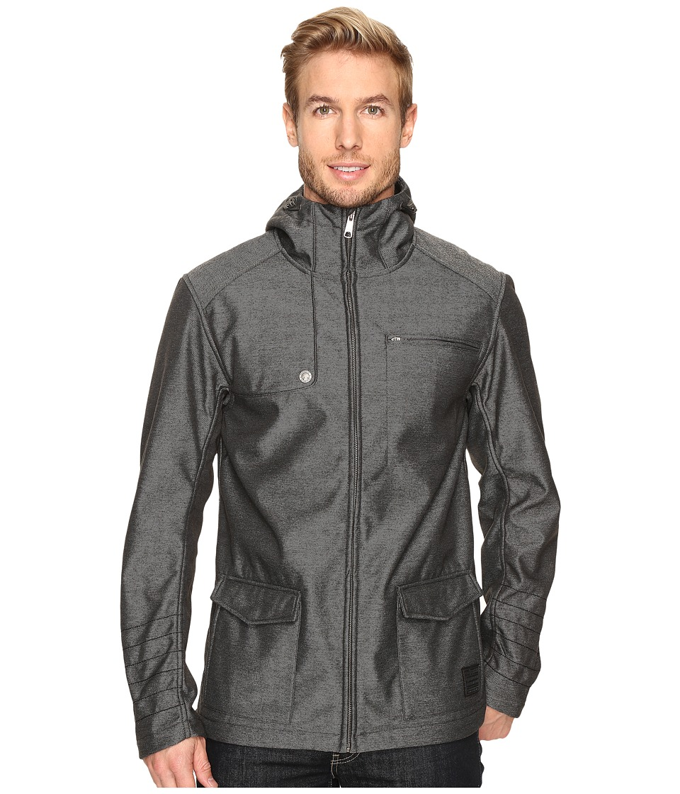Outdoor Research Oberland Hooded Jacket (Charcoal) Men's ...