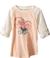 Roxy Kids - Waved Heart Tee (Toddler/Little Kids)
