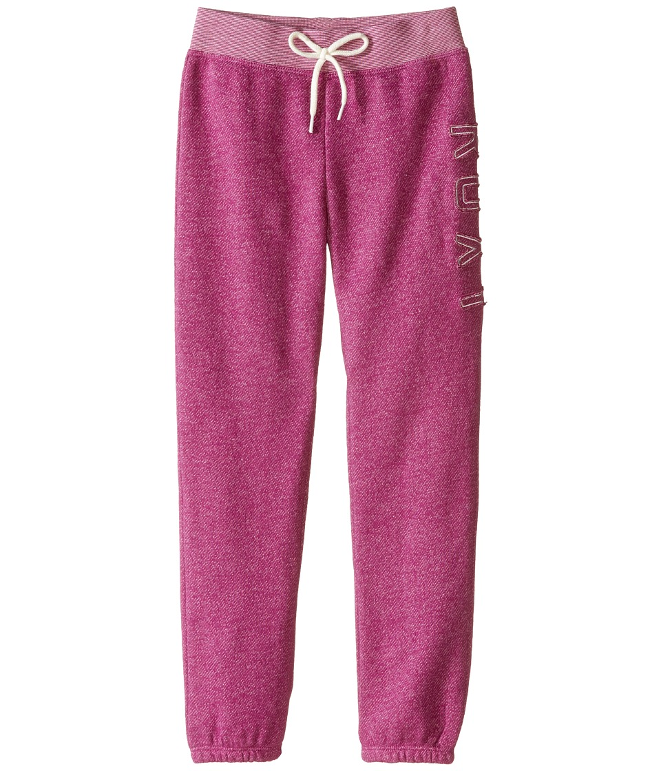 Roxy Kids Everyday Pants Toddler/Little Kids Purple Wine Girls Casual Pants