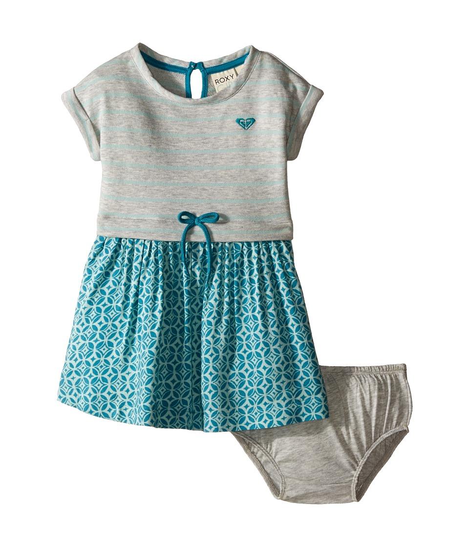 Roxy Kids Ocean Tide Dress Infant Medium Heather Girls Dress
