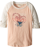 Roxy Kids - Waved Heart Tee (Big Kids)