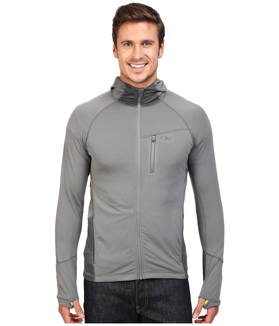 Outdoor Research Transition Hoodie (Pewter/Charcoal) Men