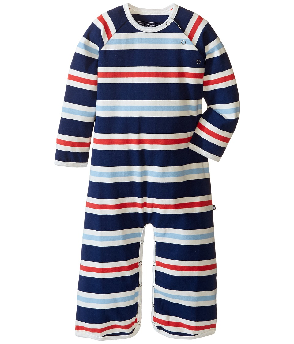Toobydoo - Navy/White/Red Long Sleeve Jumpsuit