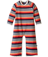 Toobydoo - Multi Stripe Long Sleeve Bootcut Jumpsuit (Infant)