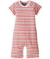Toobydoo - Red/Navy Shortie Jumpsuit (Infant)