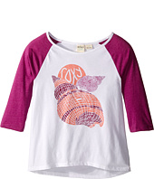 Roxy Kids - Boardwalk 3/4 Sleeve Tee (Big Kids)