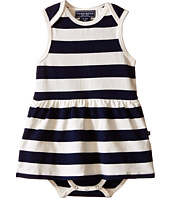 Toobydoo - Navy/White Romper Dress (Infant)