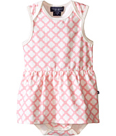 Toobydoo - Pink/White Romper Dress (Infant)