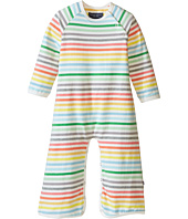 Toobydoo - Rainbow Stripe Long Sleeve Bootcut Jumpsuit (Infant)