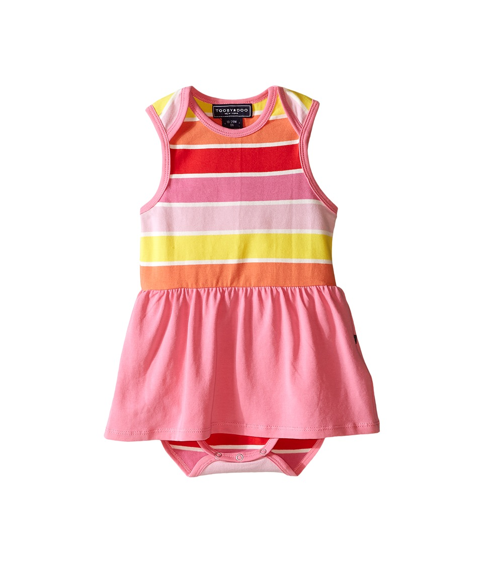 Toobydoo Pink Romper Dress Infant Yellow/Orange/Red/Pink Girls Jumpsuit Rompers One Piece