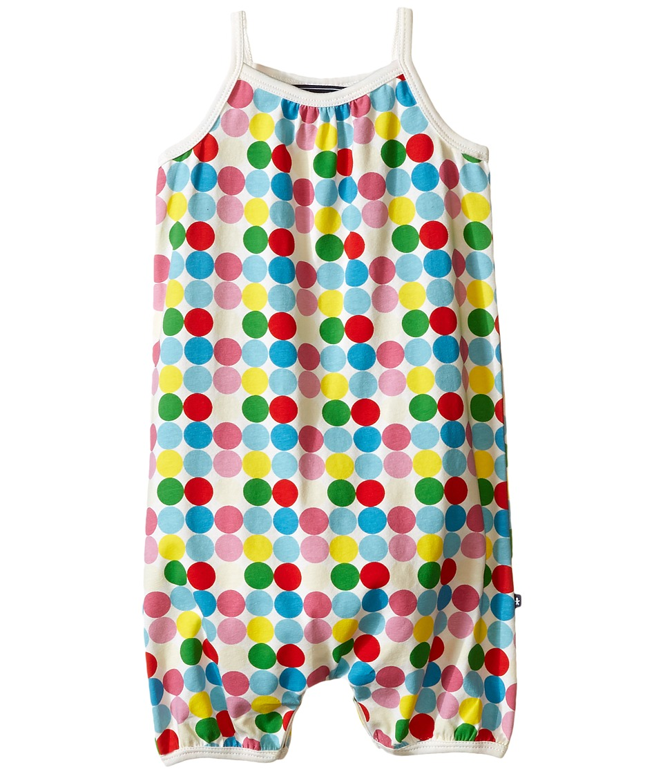 Toobydoo Dot Romper Suit Infant Green/Blue/Red/Yellow/White Dot Girls Jumpsuit Rompers One Piece