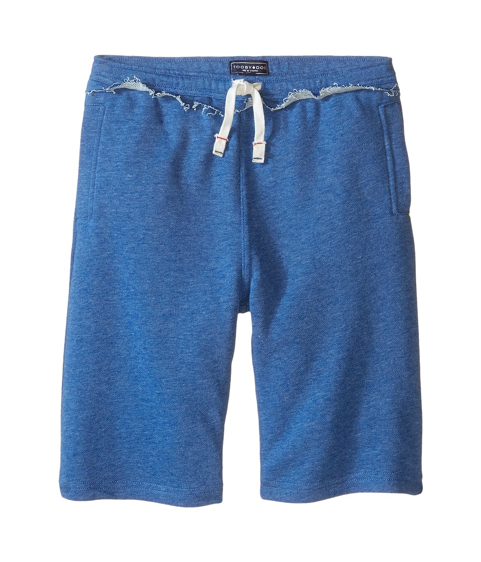 Toobydoo - Heather Blue Camp Shorts w/ White Tie