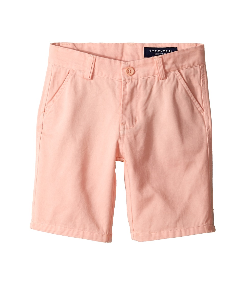Toobydoo Woven Cotton Shorts Toddler/Little Kids/Big Kids Light Orange Boys Shorts