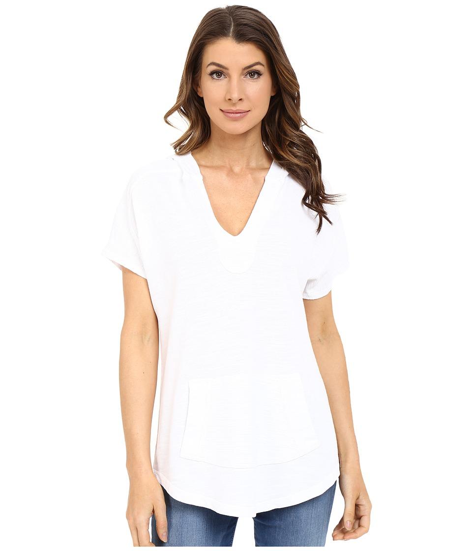 XCVI Cadyna Hoodie White Womens Sweatshirt