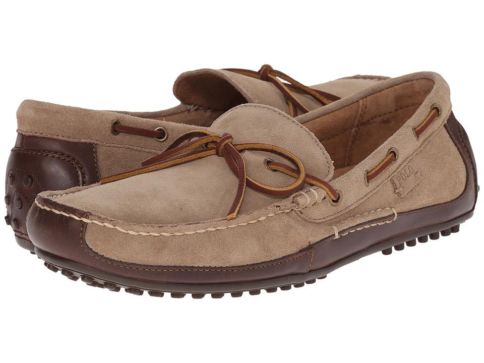 Polo Ralph Lauren - Wyndings (Tan/Milkshake Smooth Oil Leather/Sport Suede) Mens Shoes