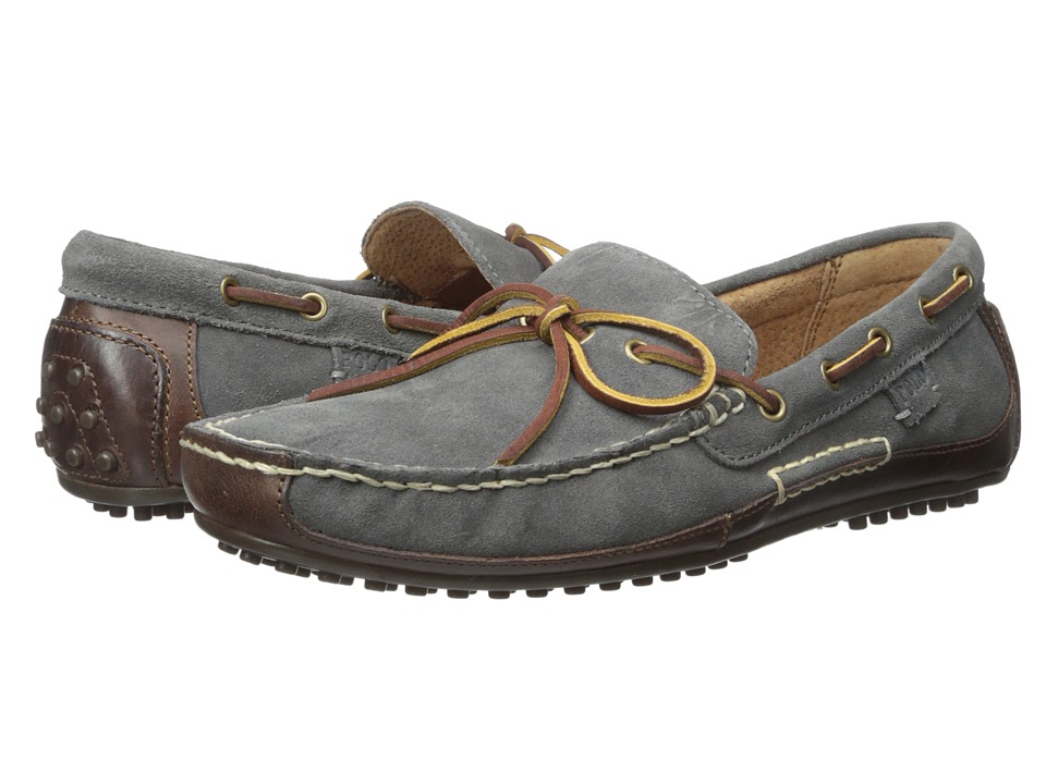Polo Ralph Lauren - Wyndings (Tan/Charcoal Grey Smooth Oil Leather/Sport Suede) Men