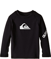 Quiksilver Kids - All Time Long Sleeve Surf Shirt Rashguard (Infant)