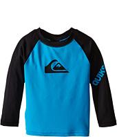Quiksilver Kids - All Time Long Sleeve Surf Shirt Rashguard (Infant)