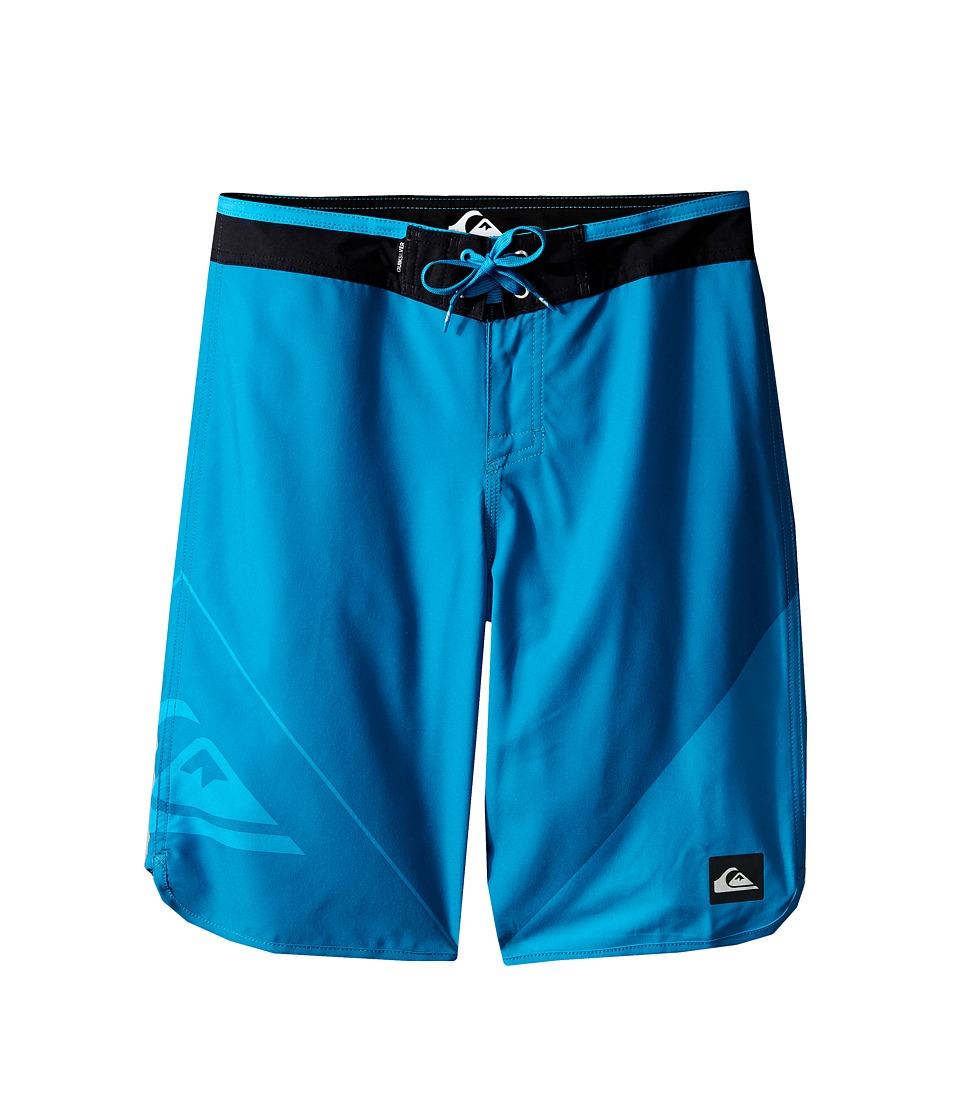 Quiksilver Kids New Wave Trunks Big Kids Hawaiian Ocean Boys Swimwear
