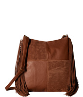 Gabriella Rocha - Clara Patchwork Crossbody with Fringe