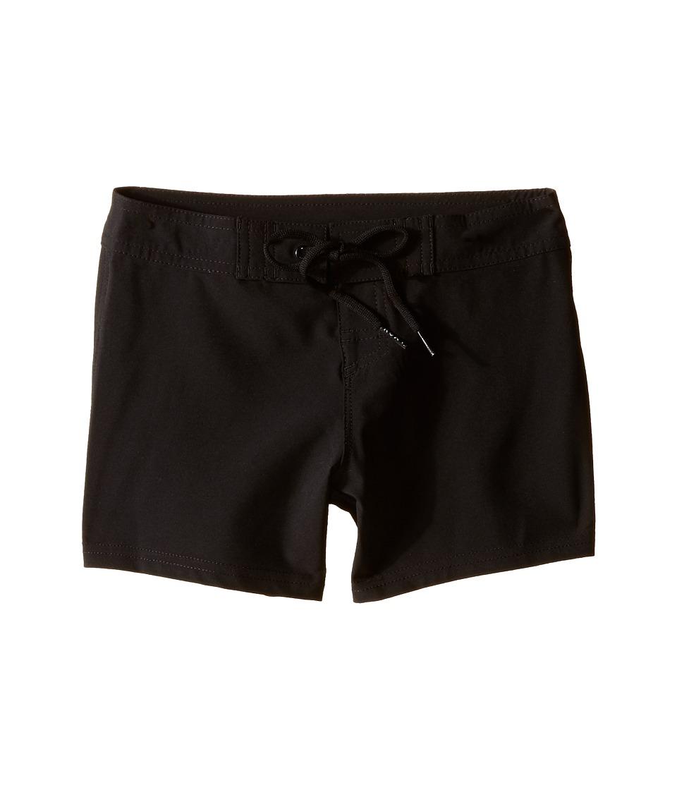 Roxy Kids See You Soon 5 Boardshorts Toddler/Little Kids Black Girls Swimwear