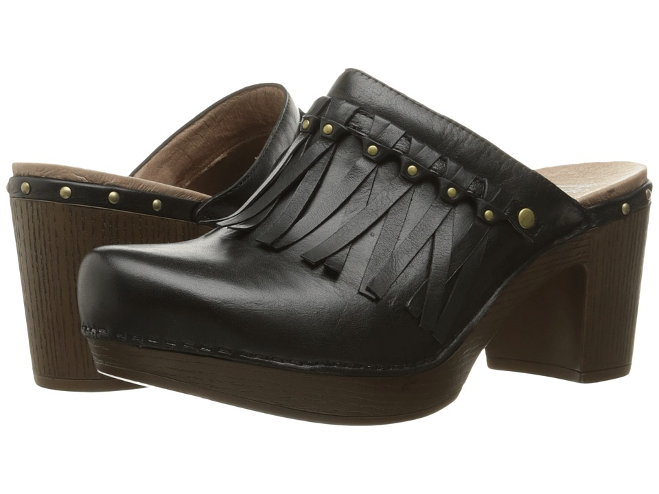 Dansko Deni (Black Full Grain) Women