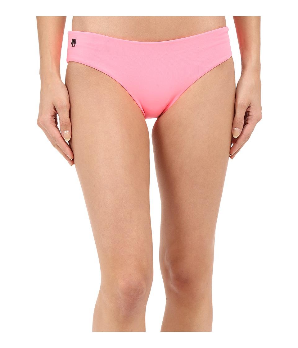 Maaji Flamingo Shortcut Hipster Cut Bottom Dark Pink Womens Swimwear