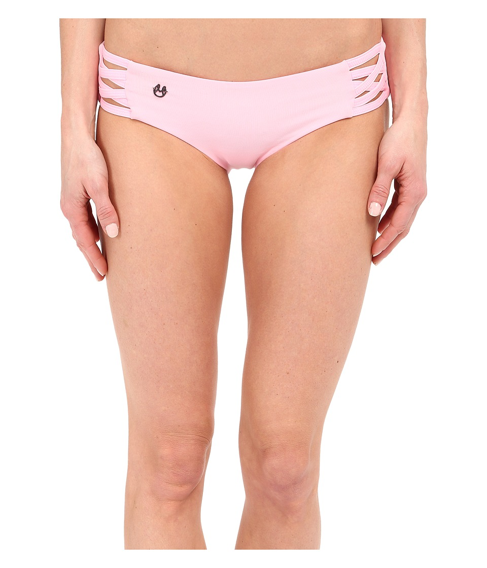 Maaji Blush Sundown Signature Cut Bottom Pink Womens Swimwear