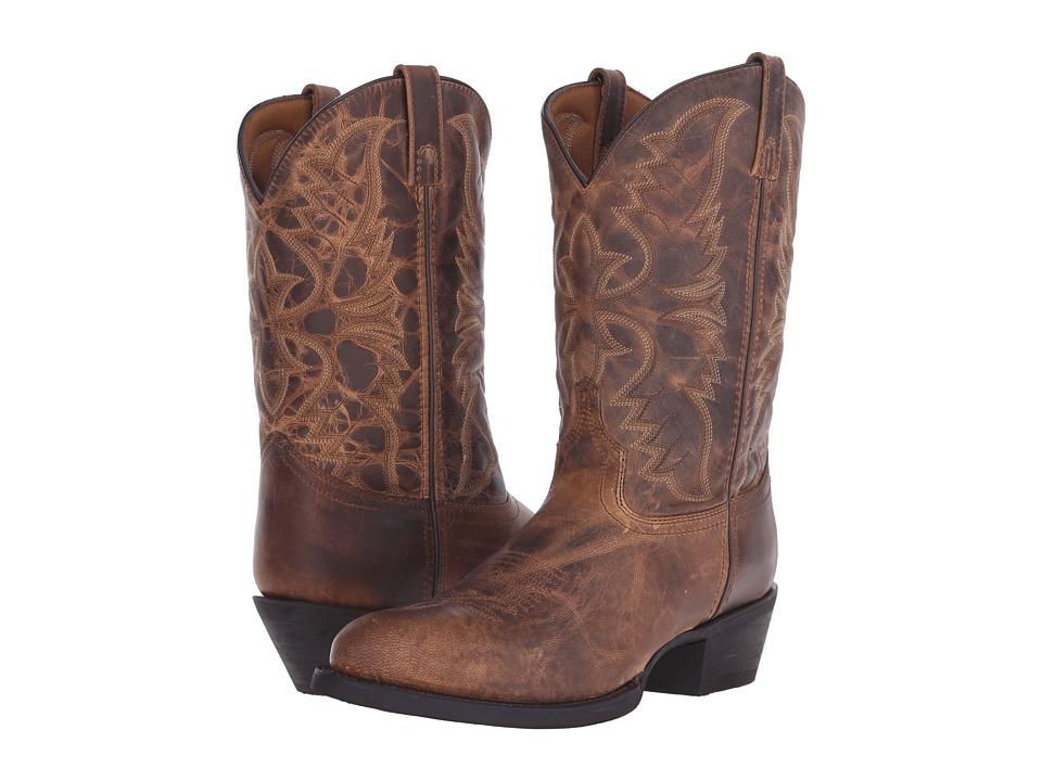 Laredo Birchwood Tan Cowboy Boots