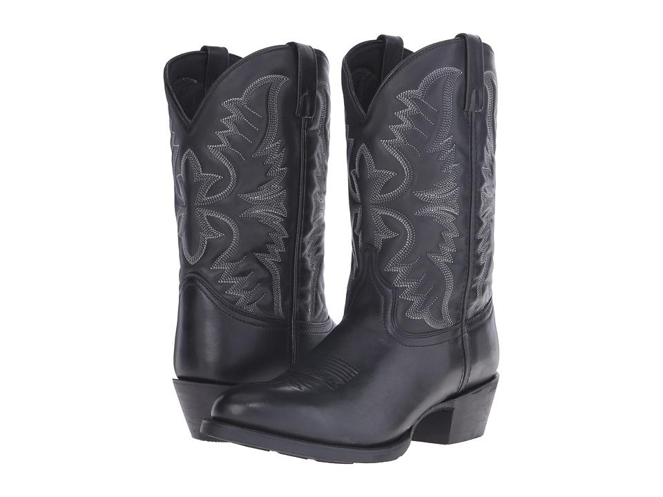 Laredo Birchwood Black Cowboy Boots